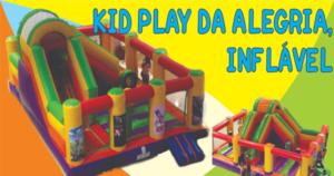 Aluguel de Kid Play da Alegria Inflável - Fazendinha