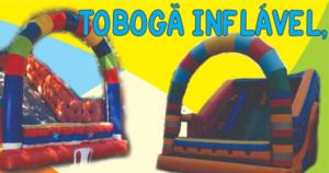 Aluguel de Tobogã Inflável